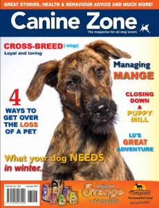 Canine Zone_Jun July 2016